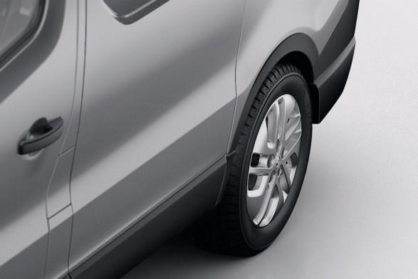 Rear wheel arch protectors