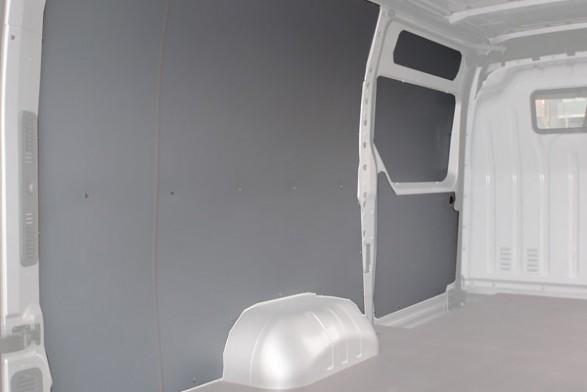 Wood wall lining - SWB - LH sliding door^