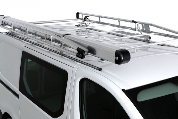 Aluminium roof rack with roller - SWB^