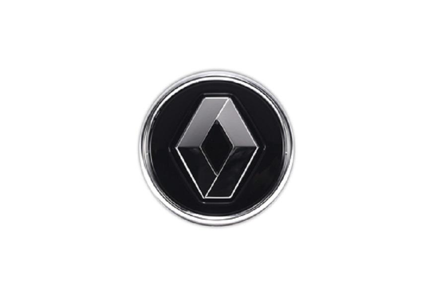 Centre cap - Renault Noir (Gloss Black)
