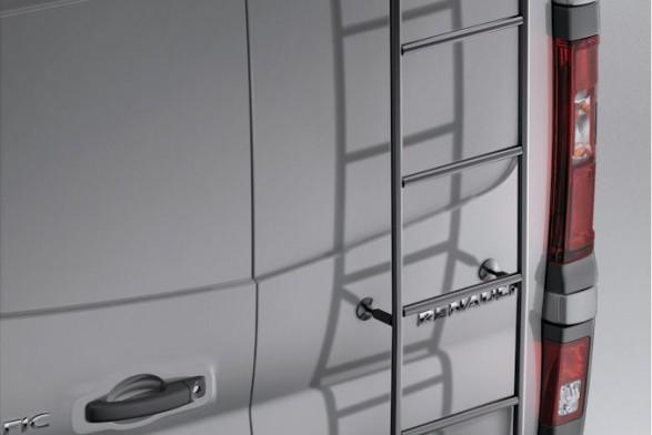Epoxy steel ladder - swinging doors