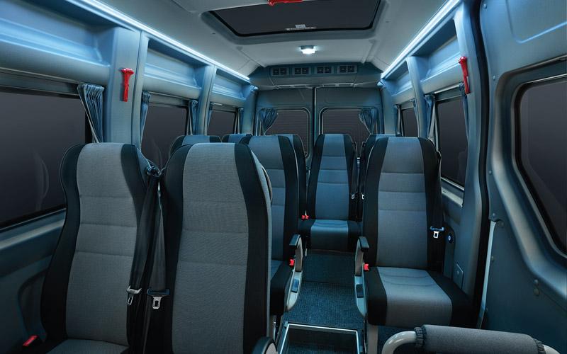 Comfortable interior ambiance