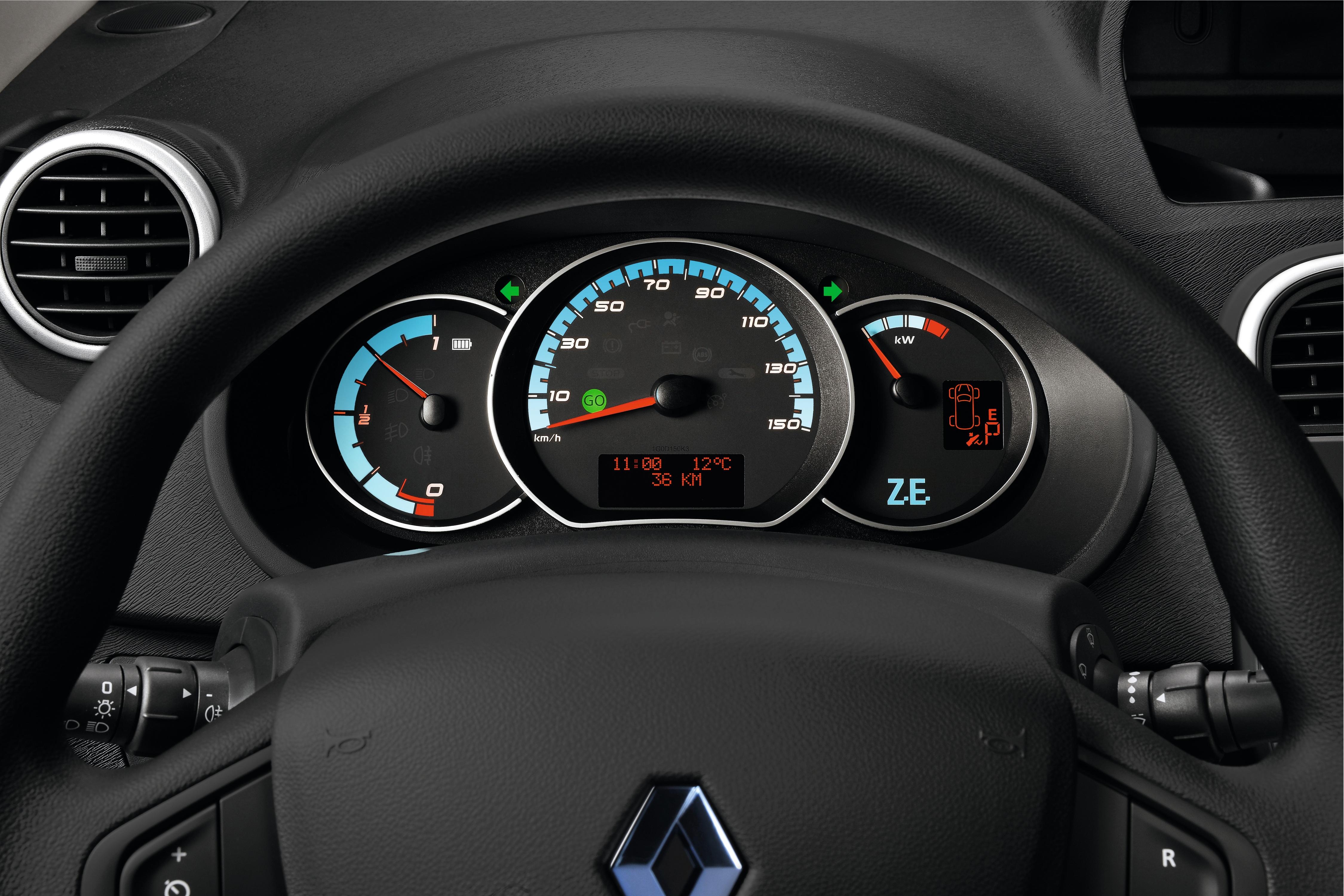 EV-specific dashboard