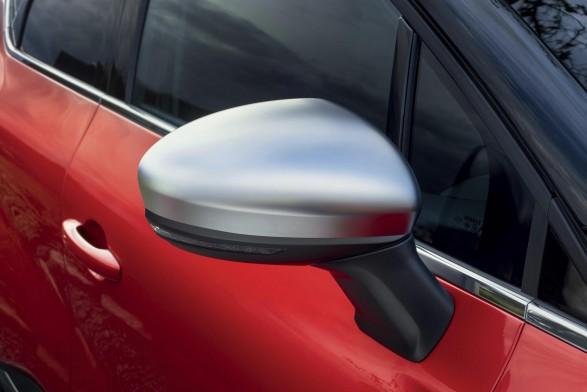 Door mirror shells - Satin grey