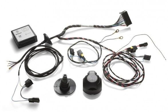 Towbar wiring harness - with pre equipment^