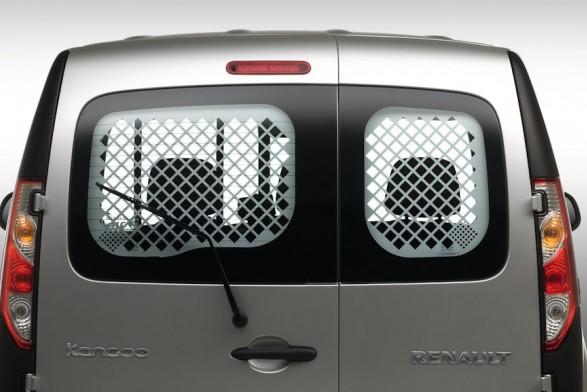 Security mesh - rear LH & RH windows