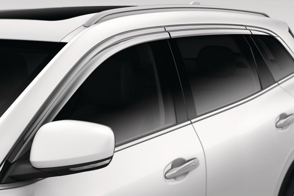 Chrome Weathershields - Left and Right