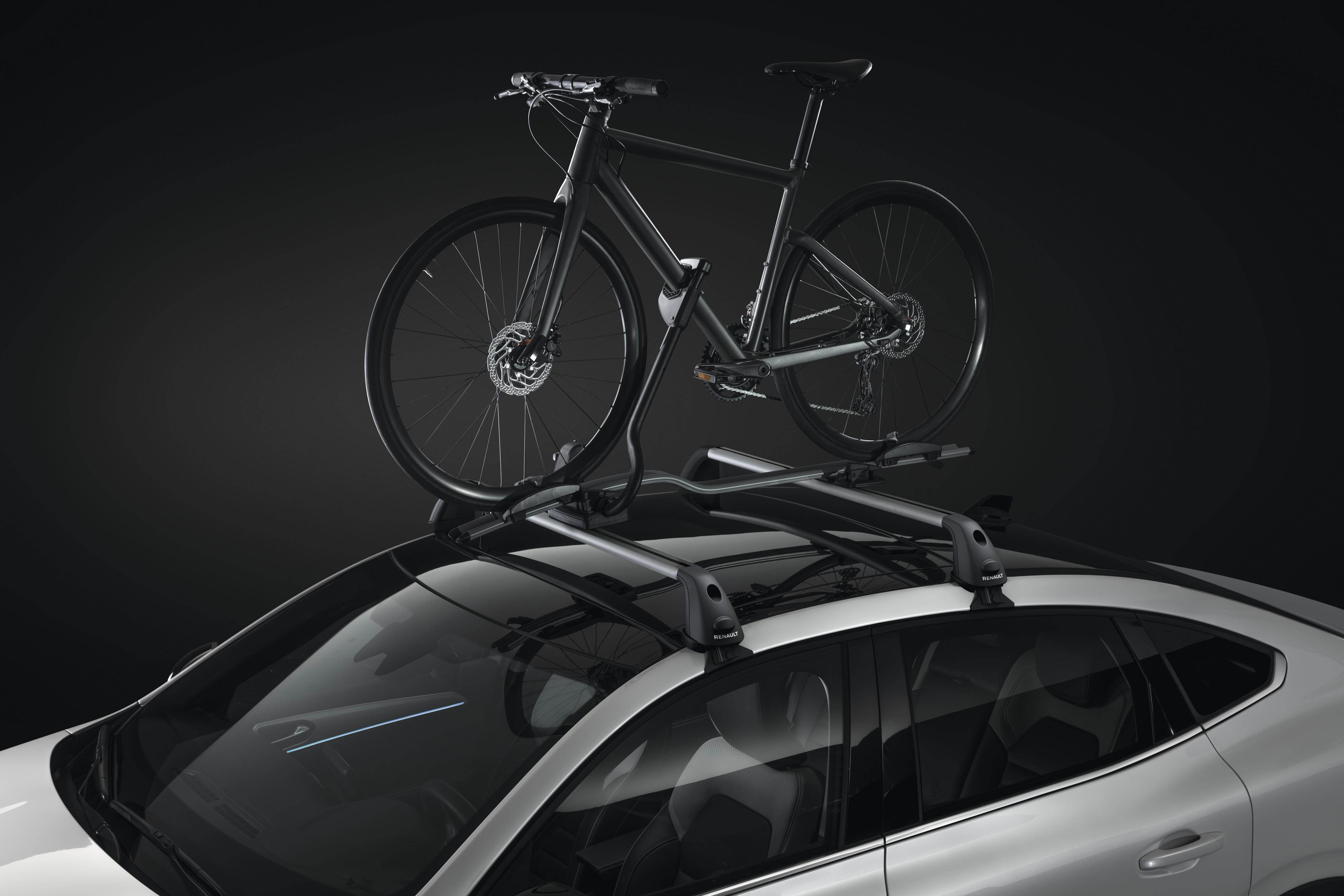 Expert bike rack on roof bars